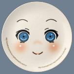 Cute Anime Face Plate