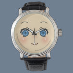 Cute Anime Face Watch