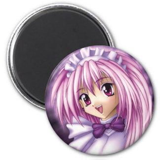 Cute Anime Girl Maid Magnet