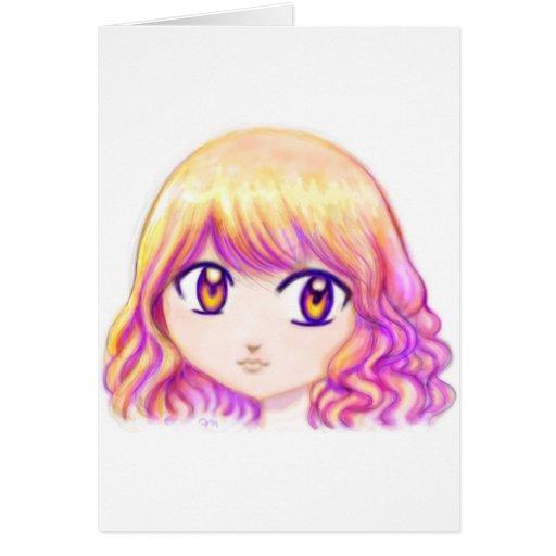 anime cute colorful girl - photo #28