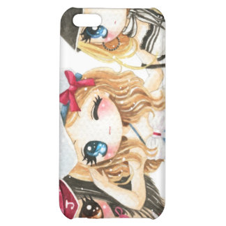 Cute anime girls - Best friends forever Case For iPhone 5C