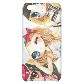 Cute anime girls - Best friends forever iPhone 5C Cover