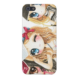 Cute anime girls - Best friends forever iPhone SE/5/5s Cover
