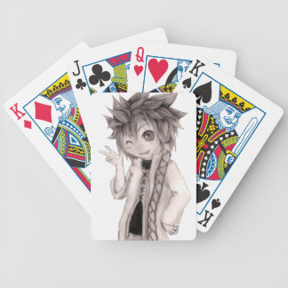 Cute Anime Guy, Original Drawing Bicycle Playing Cards