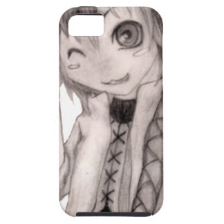 Cute Anime Guy, Original Drawing iPhone SE/5/5s Case
