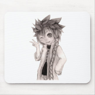 Cute Anime Guy, Original Drawing Mouse Pad