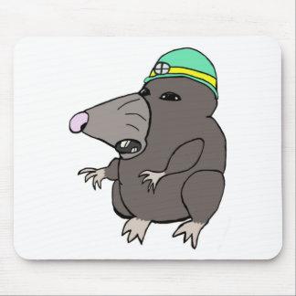 Cute Anime Mole Mouse Pads