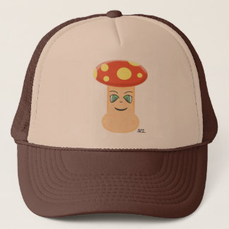 Cute Anime Mushroom Trucker Hat