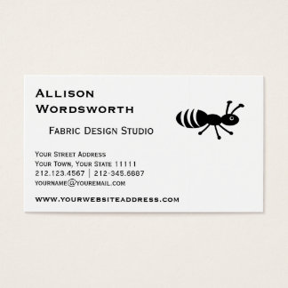 Cute Ant or Termite Funny Pest Control Business Card
