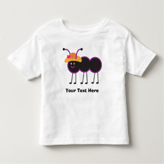 Cute Ant Personalization Toddler T-shirt