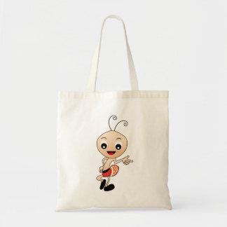 Cute ant tote bag
