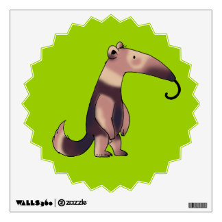 Cute anteater wall sticker
