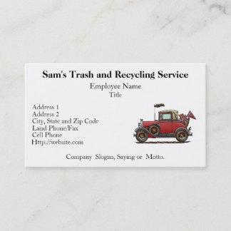 Cute Antique Car Business Card