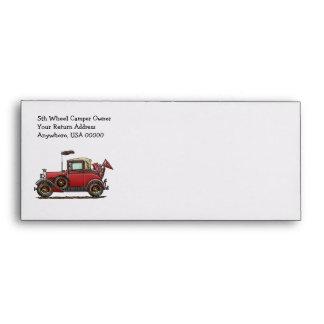 Cute Antique Car Envelope