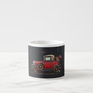 Cute Antique Car Espresso Cup