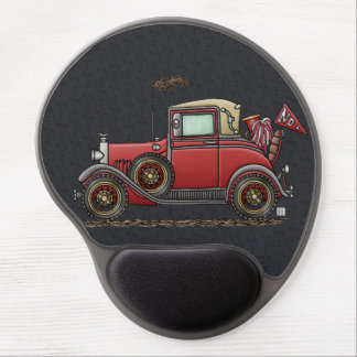Cute Antique Car Gel Mouse Pad
