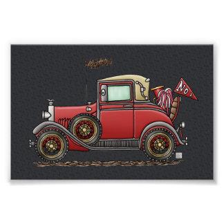 Cute Antique Car Photo Print