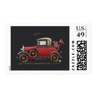 Cute Antique Car Stamps