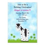 "Cute Appaloosa Horse Birthday Invitation ~ Girls 4.5"" X 6.25"" Invitation Card"
