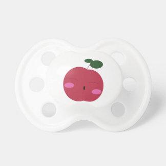 🍎Cute Apple ~ かわいいりんご. Pacifier
