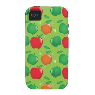 Cute apple green and red pattern iPhone 4/4S case