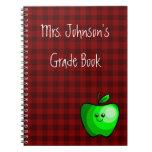 Cute Apple (Green) Notebook