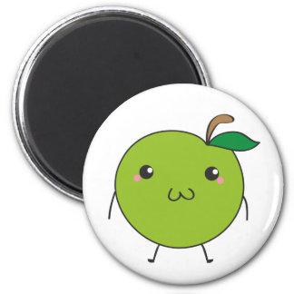 Cute apple magnet