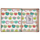 Cute apple pattern case for iPad