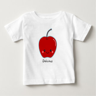 Cute Apple Personalized for Teacher Baby T-Shirt