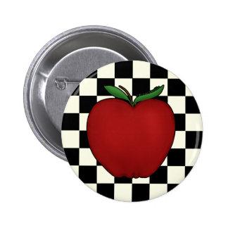 Cute Apple Pins & Buttons