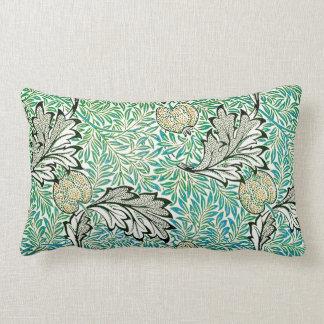 Cute Apple Vintage William Morris Wallpaper Throw Pillows
