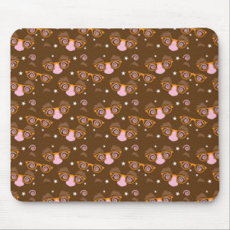 Cute April fools pattern design Mousepads