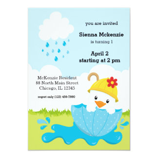 Cute April Showers Card