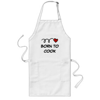 Cute aprons for women and men | Born to cook