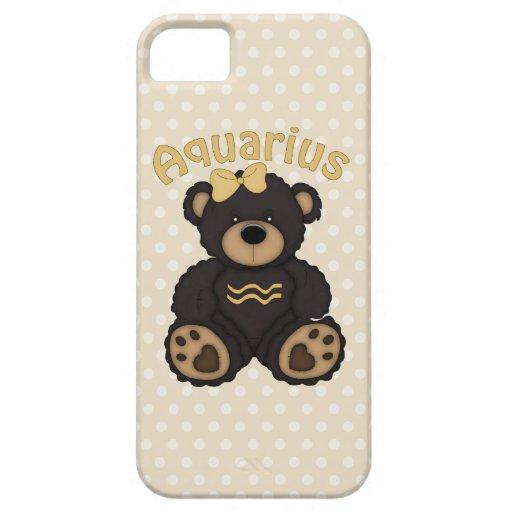 Cute Aquarius Bear Dark Brown iPhone 5 Covers