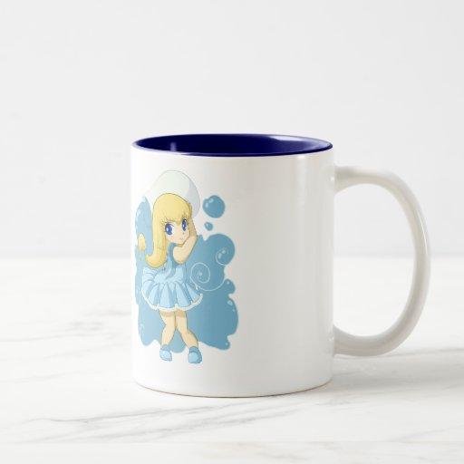 Cute Aquarius Girl Coffee Mugs Zazzle