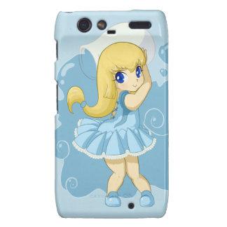 Cute Aquarius girl Droid RAZR Cases