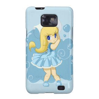 Cute Aquarius girl Galaxy S2 Cover