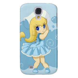 Cute Aquarius girl Galaxy S4 Case
