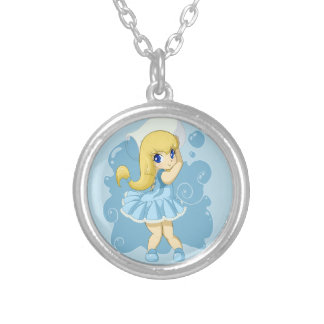 Cute Aquarius girl Pendants