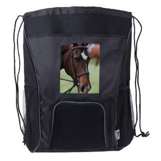 Cute Arabian Horse Drawstring Backpack