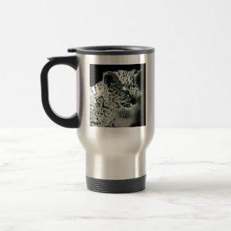 Cute Arabian Leopard Cub Travel Mug