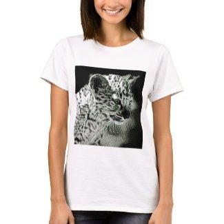Cute Arabian Leopard Cub Women's T-Shirt
