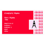 Cute Architect Double-Sided Standard Business Cards (Pack Of 100)
