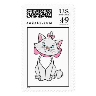 Cute Aristocats Marie Disney Stamp