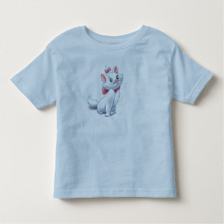 Cute Aristocats White and Pink Cat Disney Toddler T-shirt