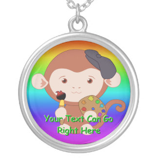 Cute Artiste Monkey Necklace