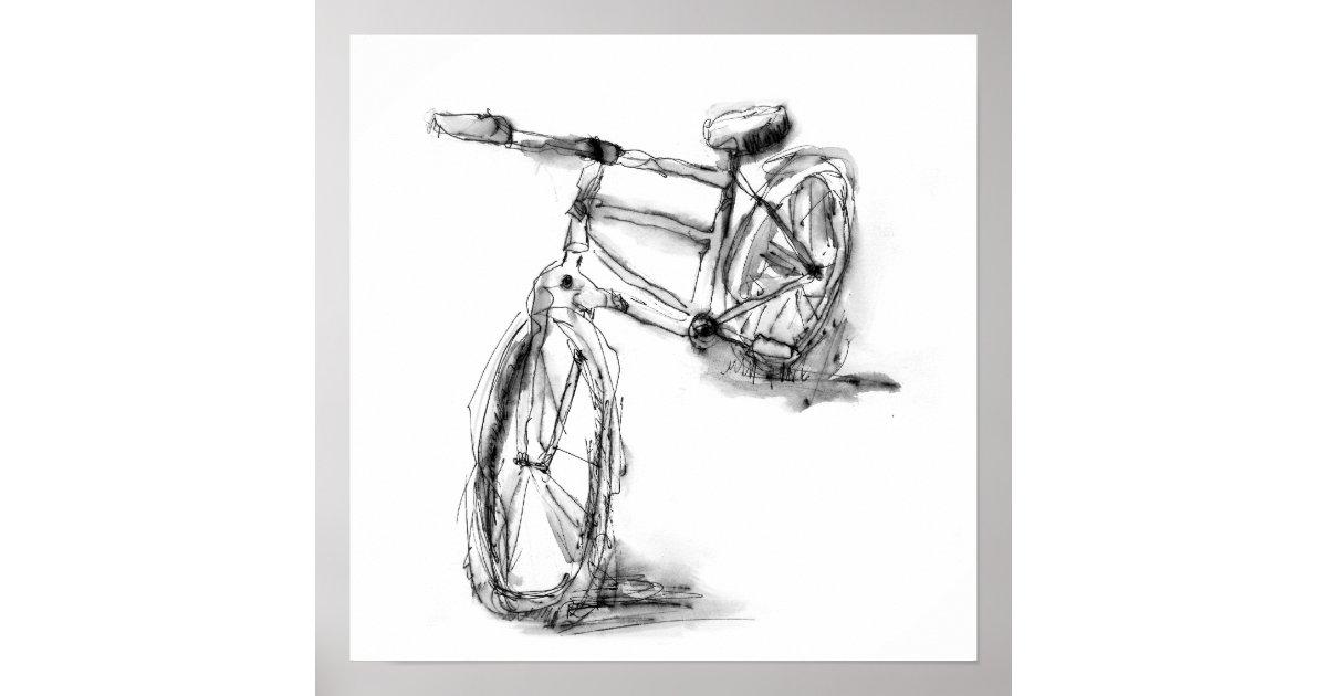 Cute Bike Drawing