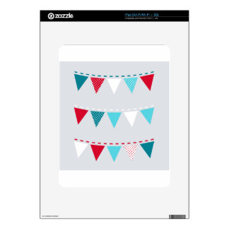Cute artistic Flags : tshirts iPad Decals