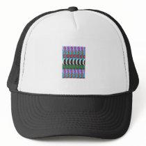 CUTE Artistic MOON Pattern : By NavinJOSHI Trucker Hat